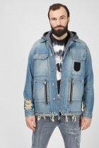 Чоловіча блакитна джинсова куртка D-SERLE Diesel M A01959 009SA - зображення 1