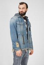 Чоловіча блакитна джинсова куртка D-SERLE Diesel M A01959 009SA - зображення 3