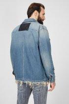 Чоловіча блакитна джинсова куртка D-SERLE Diesel L A01959 009SA - зображення 4