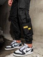 Спортивні штани BEZET Hype Black'20 1411 S Чорні (ROZ6400031858) - зображення 4