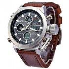 Мужский армейские водонепроницаемые часы AMST brown - изображение 3