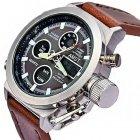 Мужский армейские водонепроницаемые часы AMST brown - изображение 4