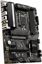 Материнская плата MSI Z590 Pro WIFI (s1200, Intel Z590, PCI-Ex16) - изображение 2