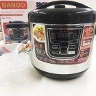 Мультиварка пароварка йогуртница хлебопечка Banoo 6 литров медленноварка 1500 Вт. Лучшая домашняя мощная помощница на кухне BN7001S - зображення 2