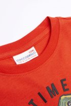 Футболка с длинными рукавами Coccodrillo Dino Team WC1143101DIN-009 122 см Красная (5904705473051) - изображение 3