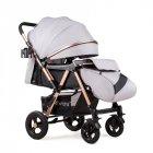 Прогулочная коляска Ninos Maxi, Light Grey new - изображение 5