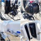 Електро Велосипед ZHENGBU XB (Білий) - зображення 3