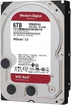 Жесткий диск Western Digital Red 6TB 5400rpm 256MB WD60EFAX 3.5 SATA III - изображение 2