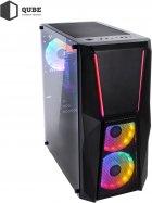 Комп'ютер QUBE i7 9700F RTX 3060 12 GB 164 (QB0094) - зображення 10