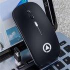 Миша бездротова SKY (A2-B) Black - зображення 5