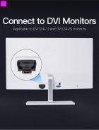 Переходник Vention HDMI F - DVI M Черный (ECDB0) - изображение 3