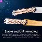 Патч-корд Vention CAT UTP5e Ethernet 0.75 м Blue (VAP-A10-S075) - изображение 4