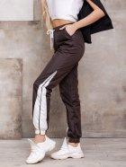Спортивные штаны ISSA PLUS SA-124 M Темно-коричневые (2001163829932) - изображение 2