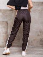 Спортивные штаны ISSA PLUS SA-124 M Темно-коричневые (2001163829932) - изображение 3