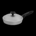 Алюминиевая сковорода с крышкой 20 см Prolis СК-200 - изображение 1