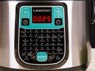 Мультиварка с часами тефлон LIBERTON LMC-5945 45 программ 900 Вт 5л Мультиповар Пароварка таймер отсрочка старта барбекю антипригарное - изображение 2