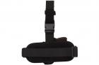 Кобура для ПМ - Макарова набедренная з платформою Cordura 1000 D Чорна Beneks - зображення 2
