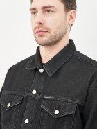 Джинсова куртка Calvin Klein Jeans Dad Denim Jacket J30J318076-1BY L Denim Black (8719853755969) - зображення 4