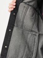 Джинсова куртка Calvin Klein Jeans Dad Denim Jacket J30J318076-1BY L Denim Black (8719853755969) - зображення 7