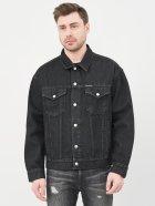 Джинсова куртка Calvin Klein Jeans Dad Denim Jacket J30J318076-1BY XXL Denim Black (8719853756140) - зображення 1