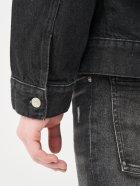 Джинсова куртка Calvin Klein Jeans Dad Denim Jacket J30J318076-1BY XXL Denim Black (8719853756140) - зображення 5
