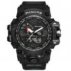 Чоловічі годинники Sanda Panars Black - зображення 1