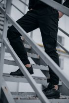 """Штани чоловічі коттоновие Intruder """"Baza"""" штани осінні   весняні   літні чорні L - зображення 3"""