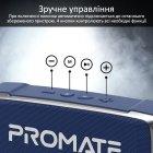 Акустическая система Promate OutBeat 6 Вт Blue (outbeat.blue) - изображение 5