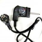 Бездимний електричний деко для гриля Gotham JE-S37 3000W Чорний - зображення 4