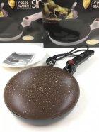 Блинница сковорода для блинов 20 см SINBO SP 5208 Brown - изображение 4