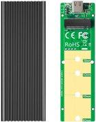 Зовнішня кишеня Maiwo для M.2 SSD NVMe (PCIe) / M.2 SSD SATA — USB 3.1 Type-C (K1687P2) - зображення 9