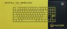 Клавіатура бездротова Hator Skyfall TKL USB/Bluetooth (HTK-660) - зображення 8