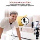 Микрофон Promate ClipMic-C USB Type-C Black (clipmic-c.black) - изображение 3