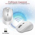 Мышь Promate Clix-5 Wireless White (clix-5.white) - изображение 6