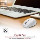 Мышь Promate Clix-5 Wireless White (clix-5.white) - изображение 7