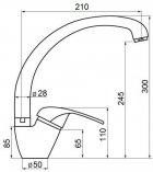 Кухонний змішувач GF (CRM)/S-03-012F - зображення 2