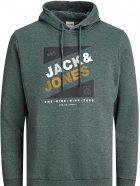 Худі Jack & Jones 12182463-58444 L Darkest Spruce (5714918570092) - зображення 1