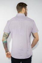 Рубашка в мелкую полоску Time of Style 199P0228 XL Сиренево-белый - изображение 5