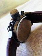 Наручные армейские часы АМСТ (AMST) коричневые - изображение 6