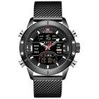 Чоловічі годинники Naviforce Tesla Black NF9153 - изображение 2