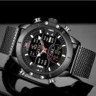 Чоловічі годинники Naviforce Tesla Black NF9153 - изображение 4