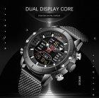 Чоловічі годинники Naviforce Tesla Black NF9153 - изображение 6