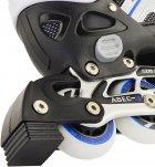 Роликовые коньки раздвижные Action Arlo размер 37-40 Blue (PW-126B-79/Blue/37-40) - изображение 8