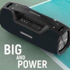 Портативная беспроводная Bluetooth колонка Hopestar A6 Pro 45Вт Black с влагозащитой IPX6 и функцией зарядки устройств (A6P) - изображение 8