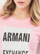 Футболка Armani Exchange 10519.4 XS (40) Рожева - зображення 4