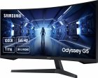"""Монітор 34"""" Samsung Odyssey G5 LC34G55T Black (LC34G55TWWIXCI) - зображення 2"""