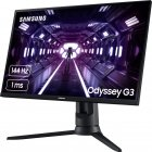 "Mонитор 27"" Samsung Odyssey G3 F27G35TFW Black (LF27G35TFWIXCI) - изображение 4"