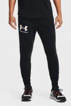 Мужские черные спортивные брюки UA RIVAL TERRY JOGGER Under Armour S 1361642-001 - изображение 1