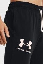 Мужские черные спортивные брюки UA RIVAL TERRY JOGGER Under Armour S 1361642-001 - изображение 4