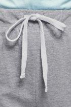 Жіночі сірі спортивні штани Oodji XL 16701082/47420/2000M - зображення 4
